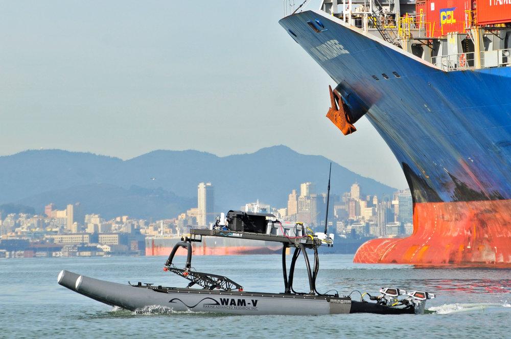 WAM-V 16 ASV for Maritime Security