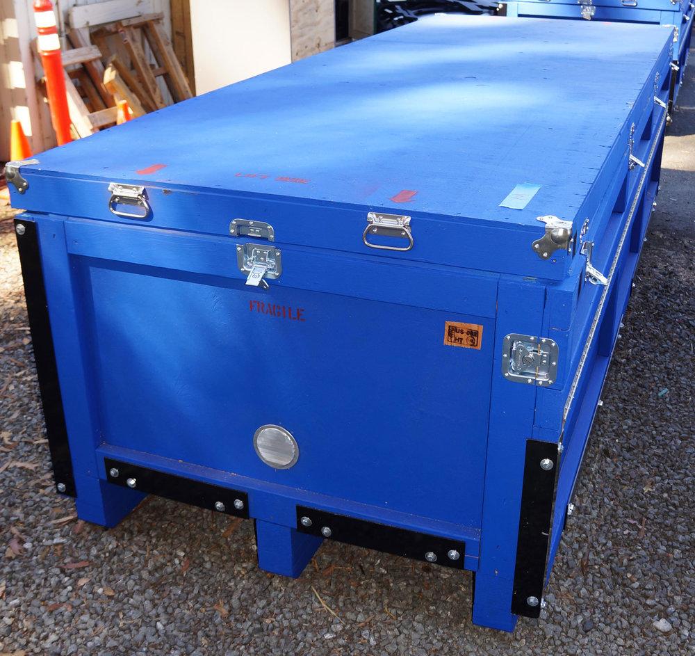 WAM-V 16 USV Packed for Shipment