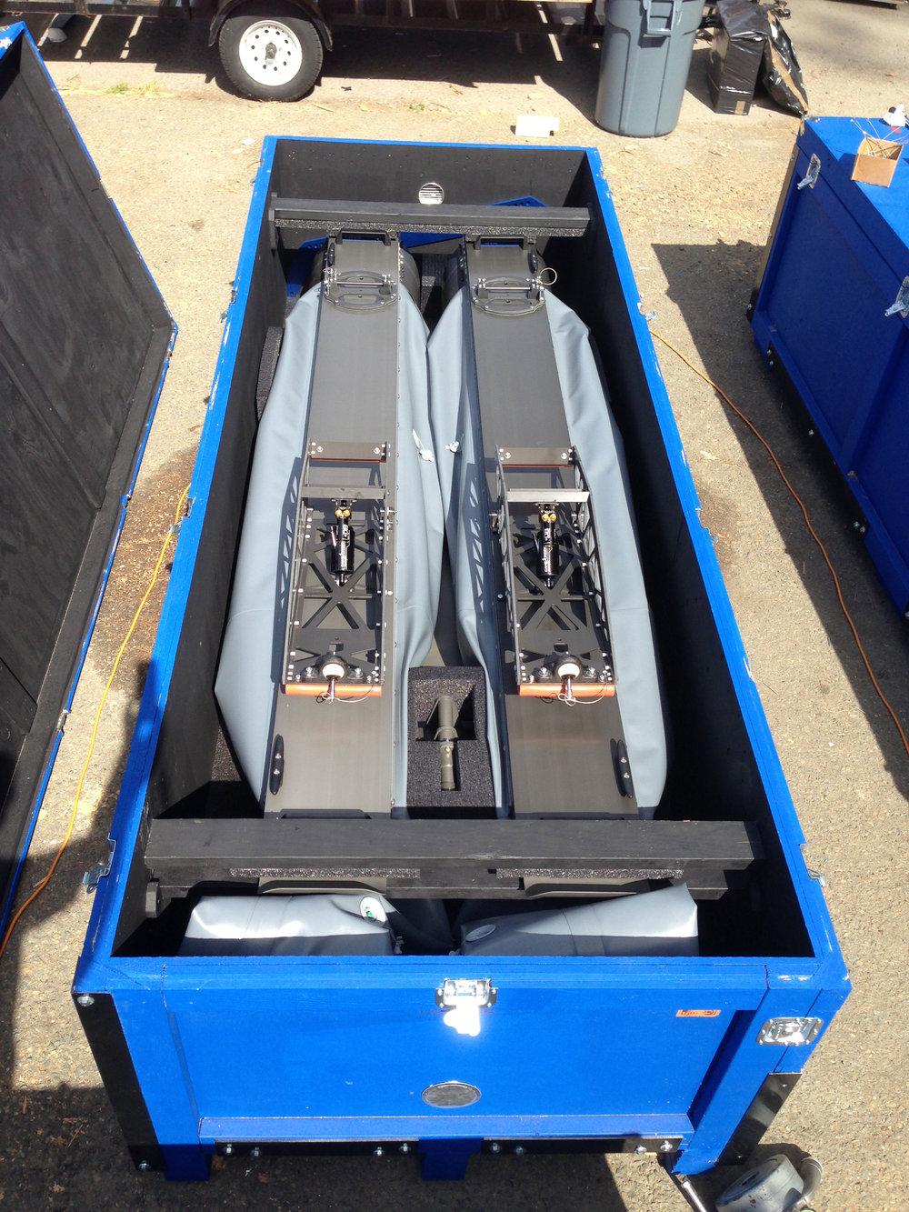 WAM-V 16 USV is Easy to Pack