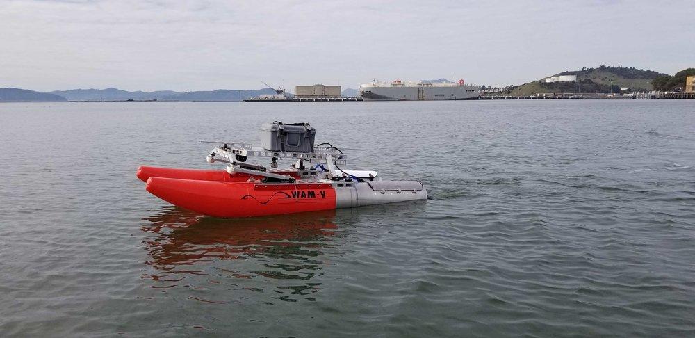 WAM-V 8 ASV Port Survey