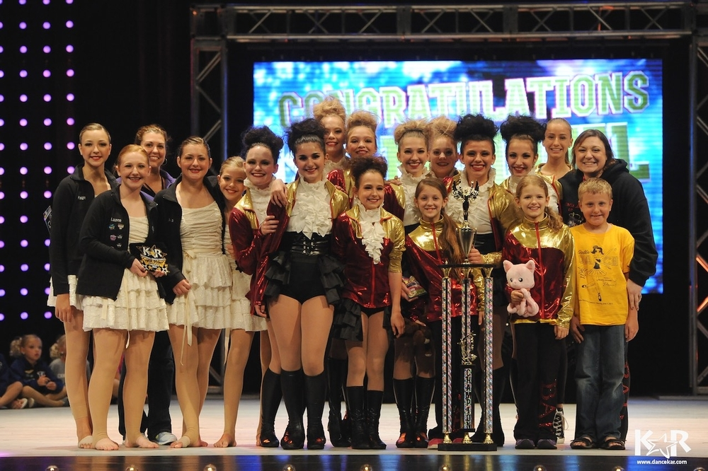 2015 National Champions! Kids Artistic Revue Nationals Toledo, Ohio
