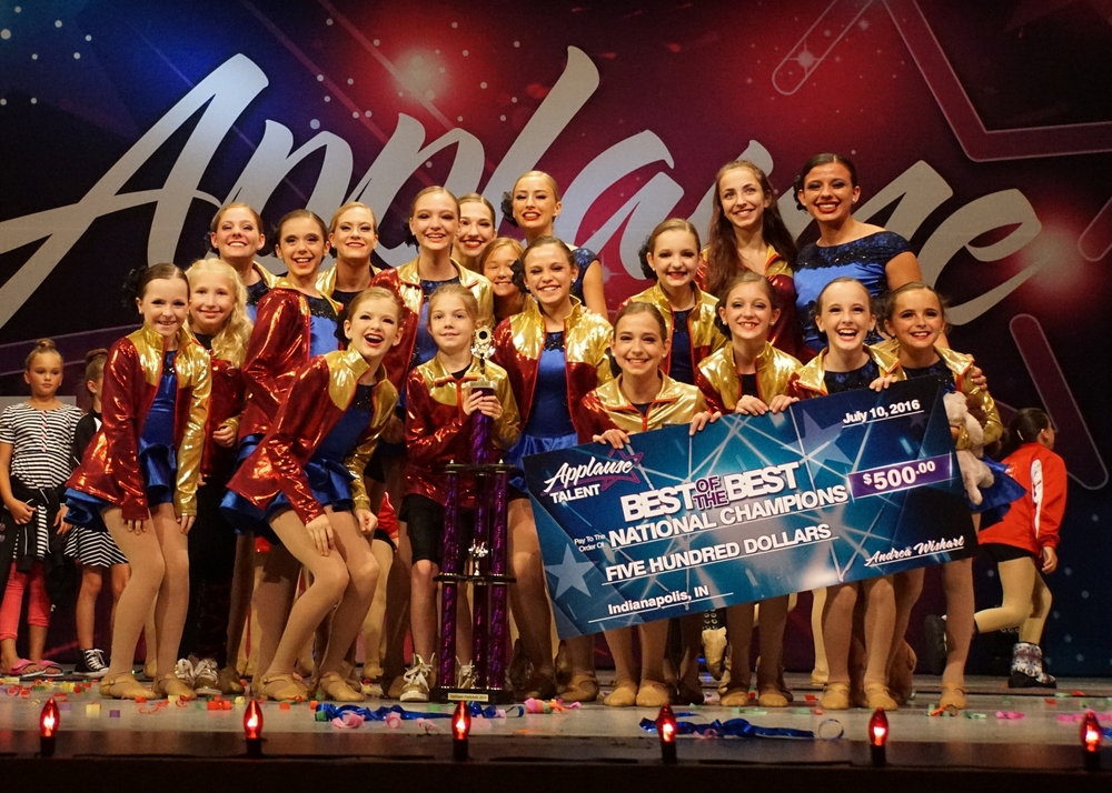 2016 Best of the Best National Champions!! Applause Talent Nationals Indianapolis, Indiana