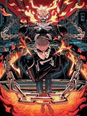 ALL-NEW GHOSTRIDER#7 COVER