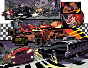 ALL-NEW GHOSTRIDER#6 INTERIORS