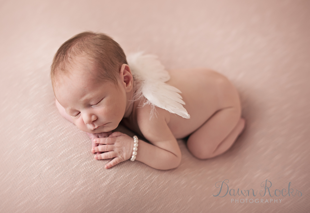 What a little angel!