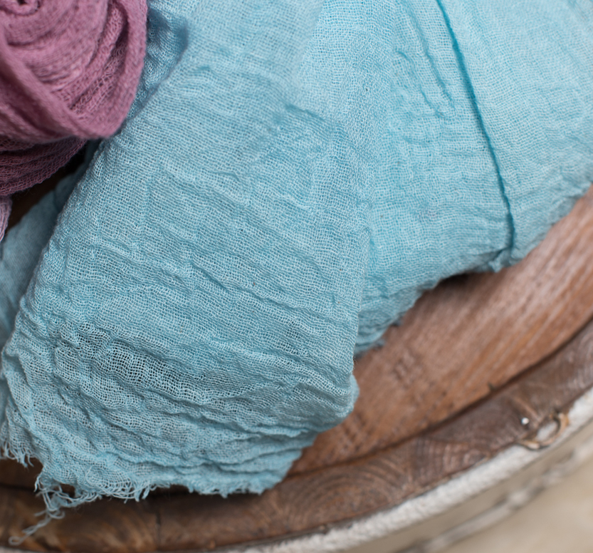 This is 90 grade cheesecloth. Although the 50 was good and I would use this in most cases to make wraps for the look I am drawn to. I like the thicker more fabric type feel and thickness to the 90 grade cheesecloth.