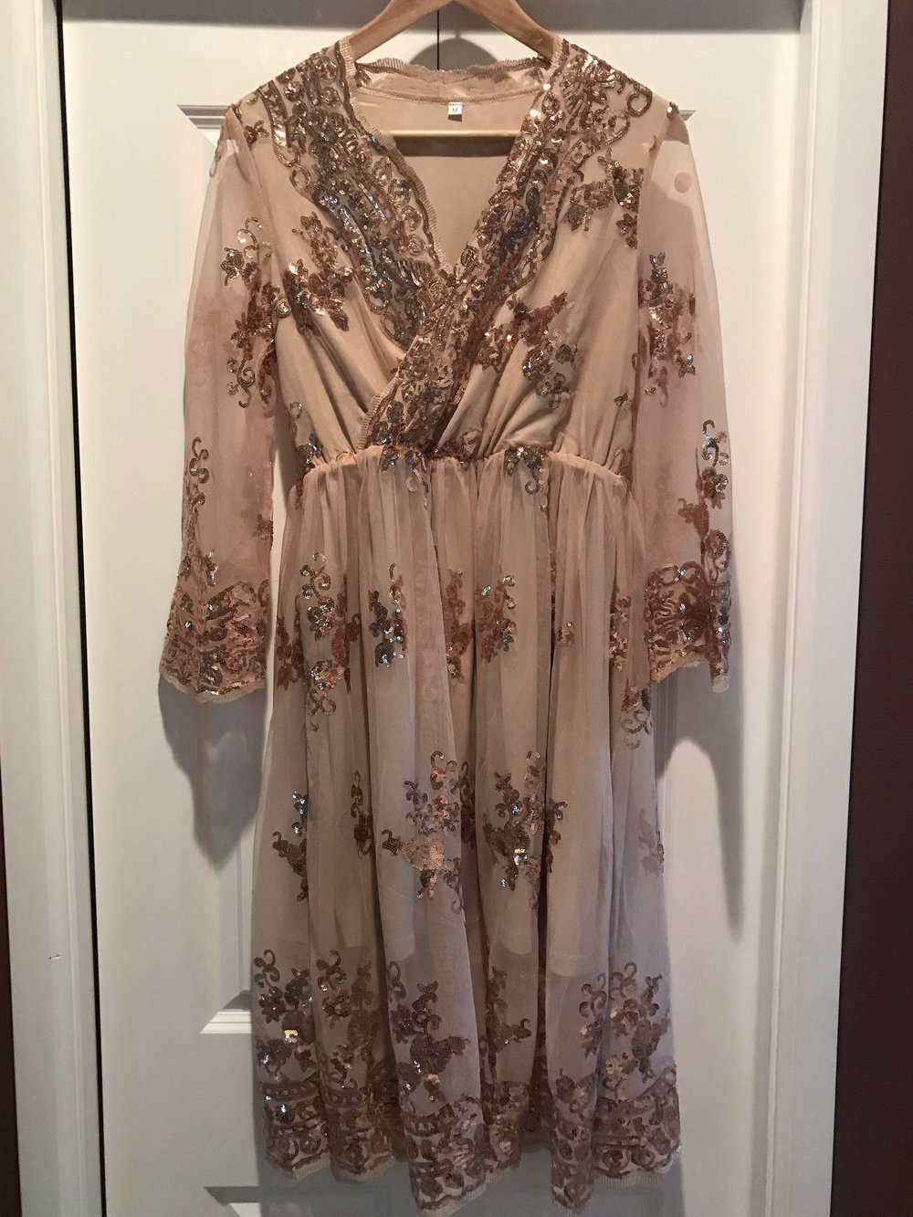 Blush Sequin XXS-M/L