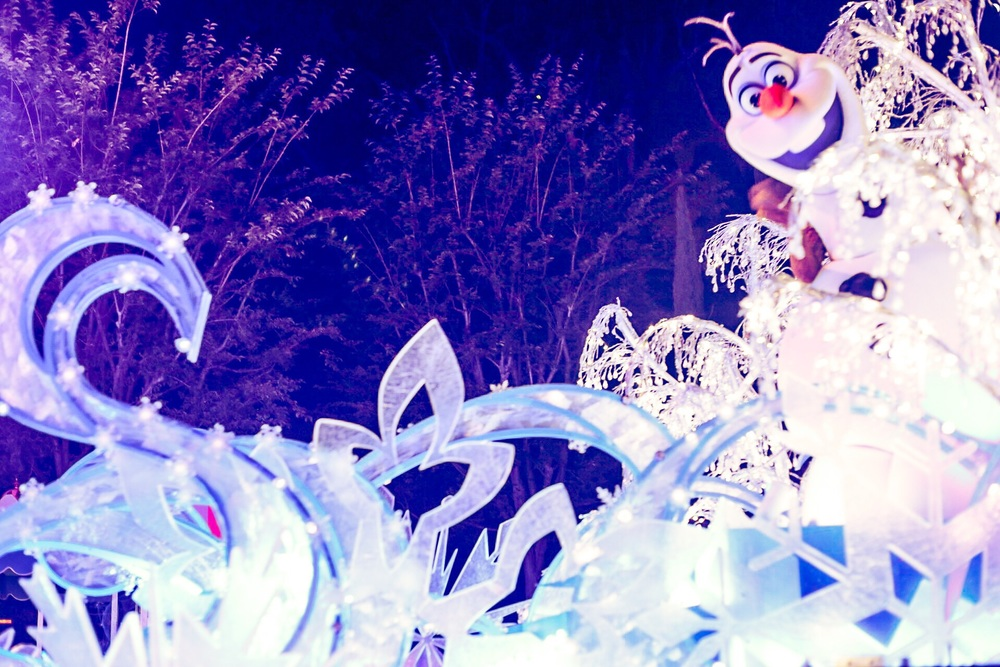 Olaf! Photo Credit: Audrey Montoya @AudreyMontoya