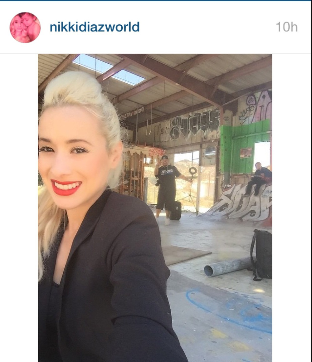 Instapost on location!