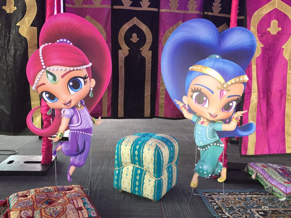Shimmer & Shine of Nick Jr.