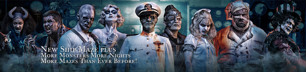 Photo courtesy of  The Queen Mary Dark Harbor