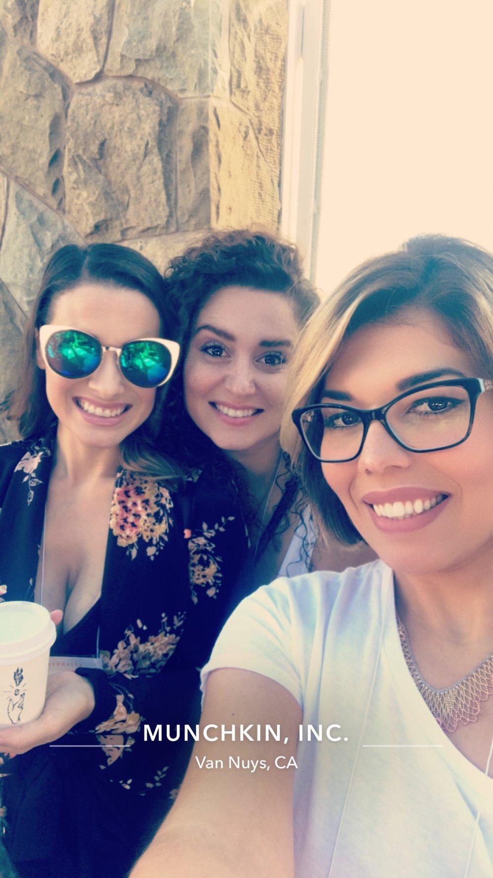 Snapchat Dwellers-  Claire Stark  &  Julie Vasquez