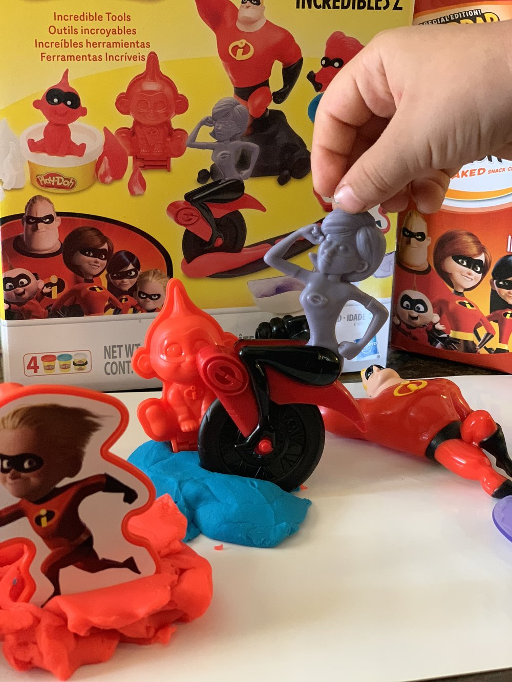 Play-Doh Incredibles 2 set