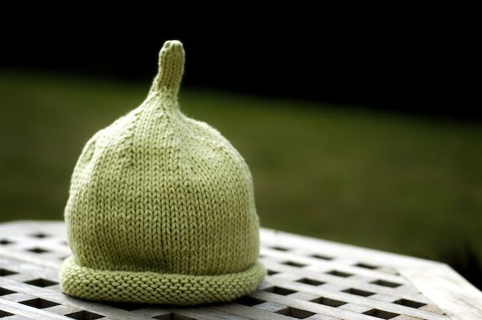 Green Baby Beanie