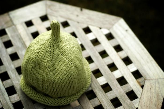 Green Baby Beanie 2