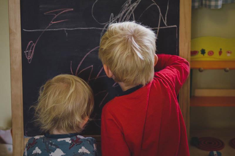 Sharing the blackboard