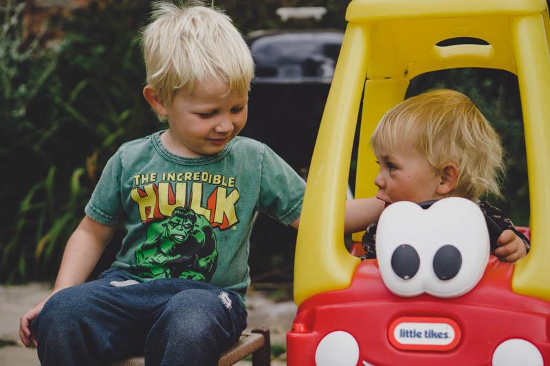 Siblings in September
