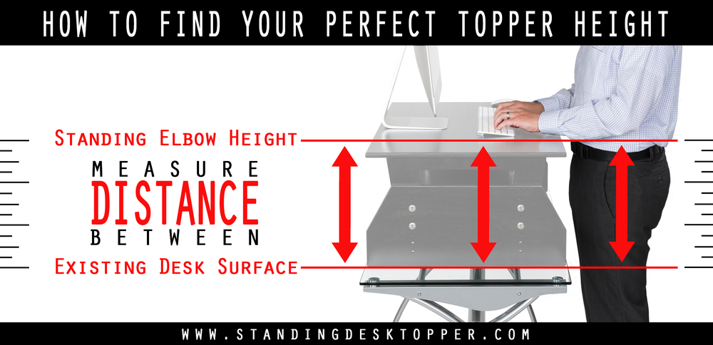 "We have Standing Desk Conversion options to match 10""-15"" and 15""-20"" height requirements - adjustable in 1 inch increments."