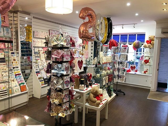 ✨Lots of great new products in stock today after a busy day of deliveries✨#new #gifts #cards #freshenup #valentines #baby #birthday #balloons