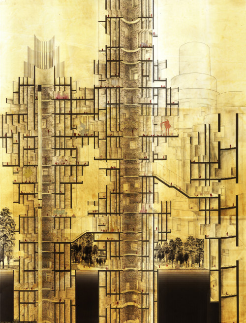 La Biblioteca de Babel (via  space journal )