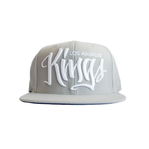 8e7952d4a238c LA KINGS - SOLID SCRIPT HAT — Mister Cartoon