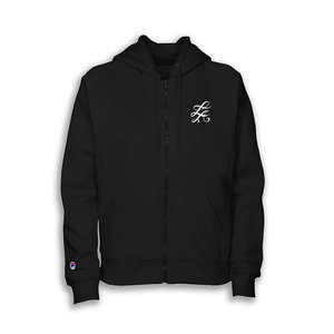 eac4a69bf876 LA Cortez Zip Up Hoodie - Black