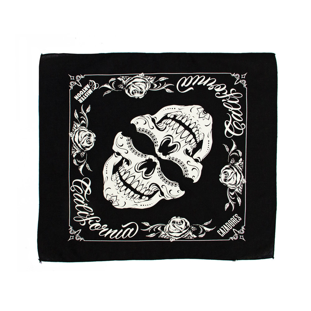 Mister Cartoon has also created a set of skull bandanas – inspired by illustrations from the limited-edition bottle – that will be available through MisterCartoon.com/shop with 100% of proceeds from sales going towards disaster relief in Mexico.