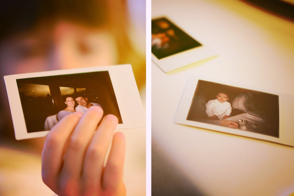 Polaroids de la boda/ Polaroid pics, some fun in the wedding