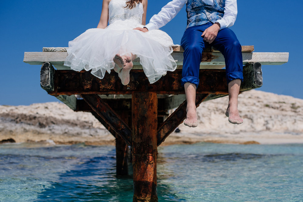 Illetes Trash the dress