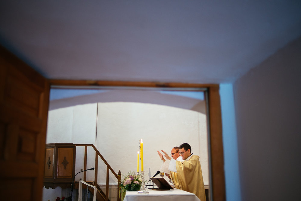 church wedding priest