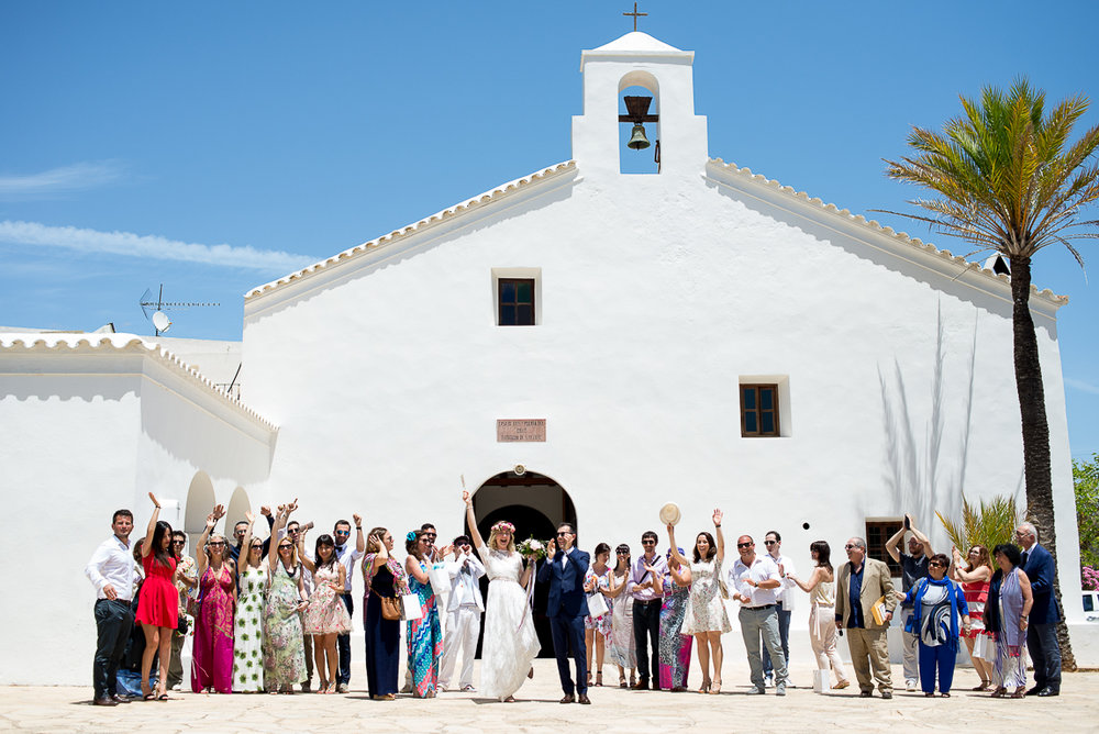 white church wedding