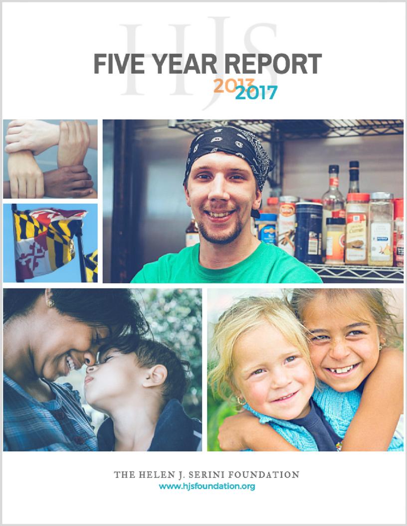 Download The Helen J. Serini Foundation's 2017 Report .