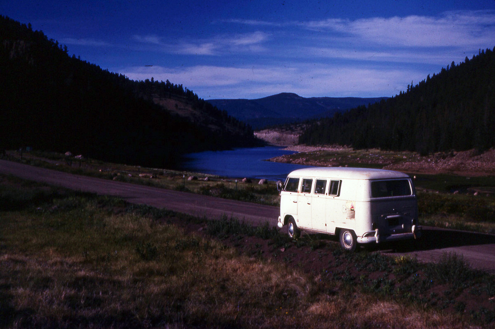 Jeff's '66 VW Bus, Colorado, 1977