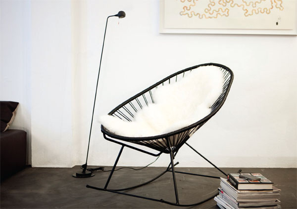 A Celebrated Design Of The 1950s, The Acapulco Chair Orginates From The  Area Around The Famous La Quebrada Cliffs In Acapulco Bay   In Its Heyday A  ...