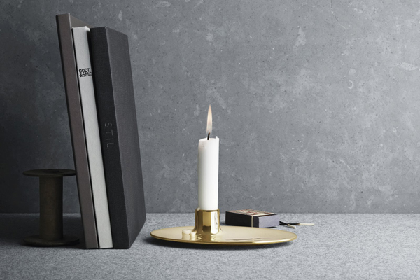 Ilse Crawford candle holder for Georg Jensen