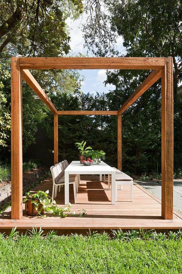 A poolside garden pavilion in Melbourne Design Hunter