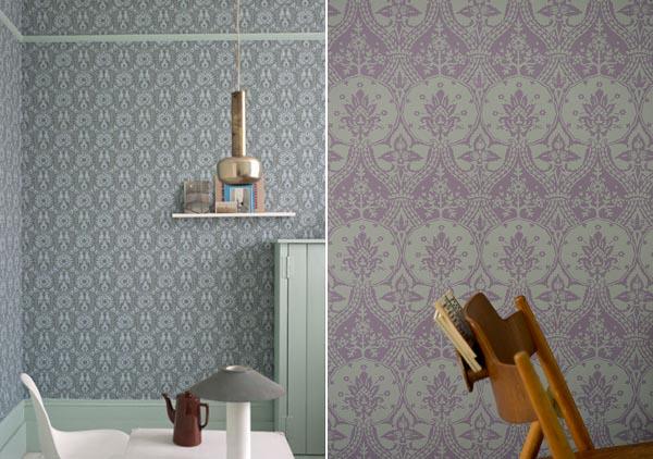 Farrow & Ball Broccato Wallpapers