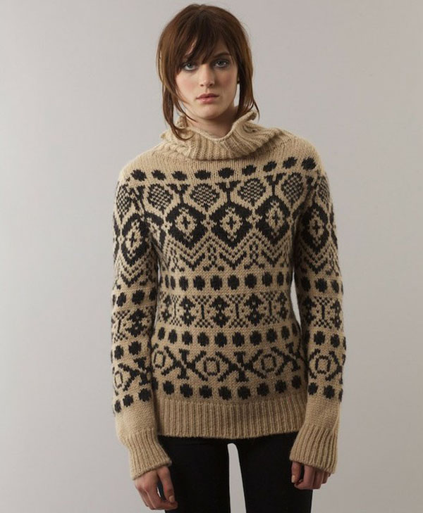 Sarah Lund style Nordic sweater by ESK