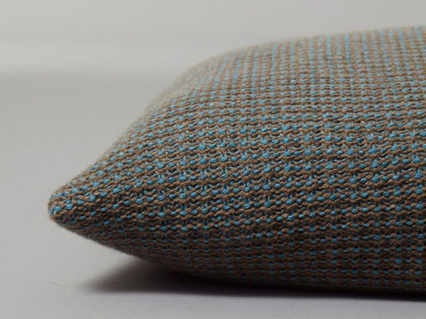 knitted cushion by ESK