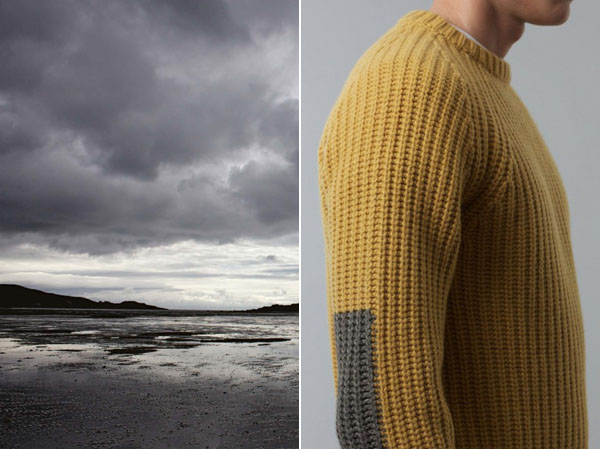 Scottish knitwear