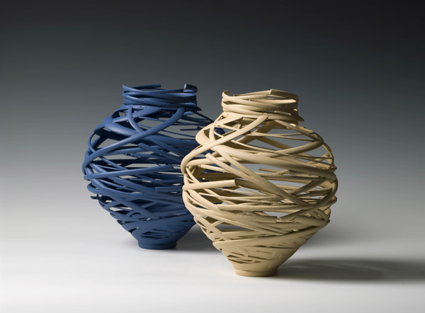 Michael Eden_Blue Vortex and Taupe Vortex, 2010.jpg