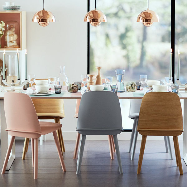 10 of the best contemporary dining chairs design hunter for Dining chair ideas