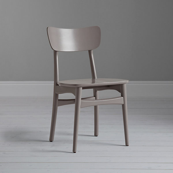Part Of The House By John Lewis Collection Asta Dining Chair Is Crafted In Oak With Slender Flared Legs And A Broad Back For Comfort 89
