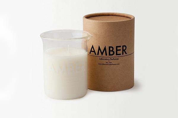 Amber candle Laboratory Perfumes