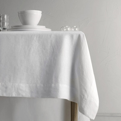Linen table cloth - £125