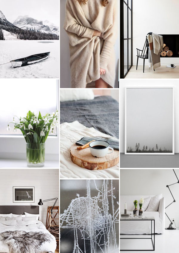 Design Hunter January moodboard on Pinterest