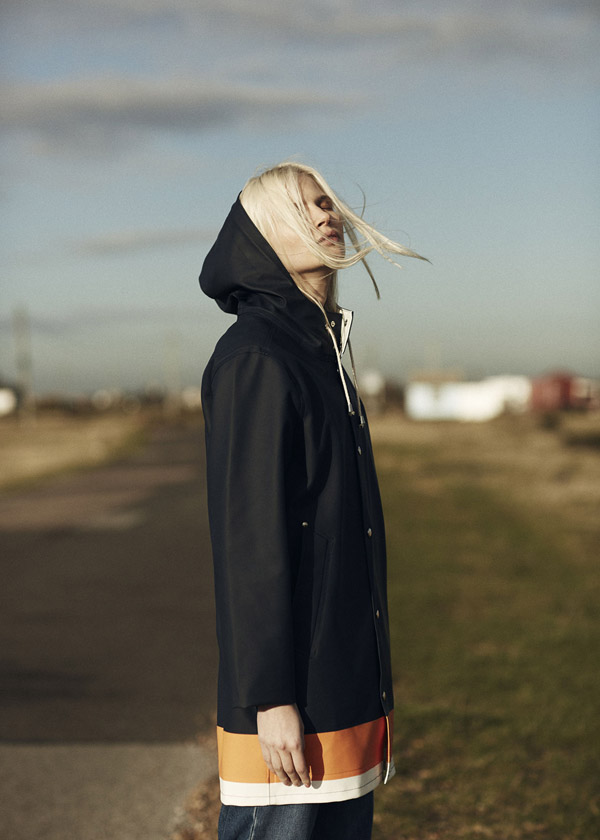 Whistles x Stutterheim raincoat collaboration | Design Hunter