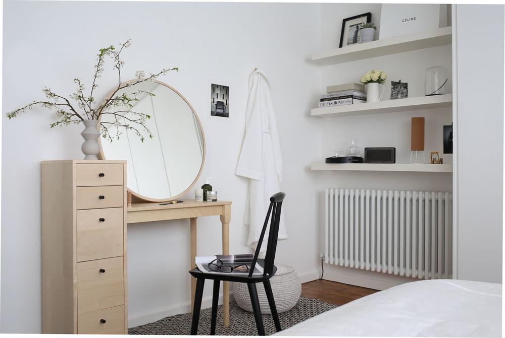 Habitat dressing table in white bedroom | Design Hunter