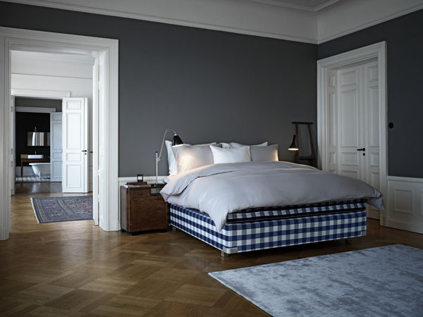 luxury beds made in Sweden by Hästens | Design Hunter