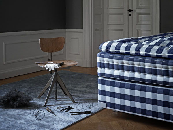 Hastens Swedish handcrafted luxury beds | Design Hunter